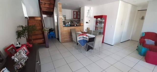 Apartamento duplex com 4 dormitórios à venda, 143 m² por r$ 395.000 - papicu - fortaleza/c - Foto 12