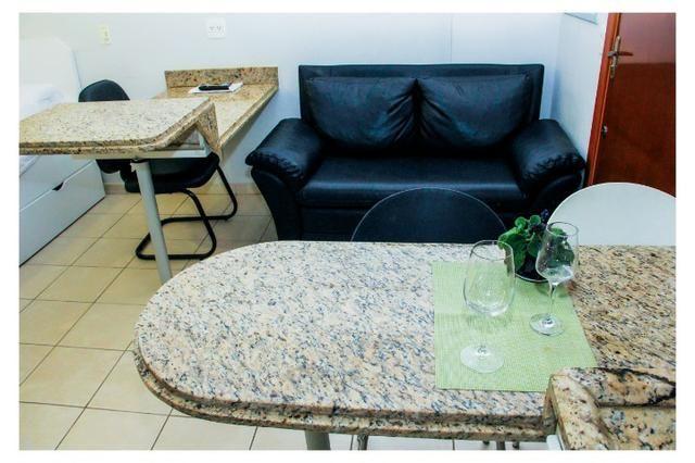 Flats e Apartamentos mobiliado por temporada em Goiânia - Foto 17