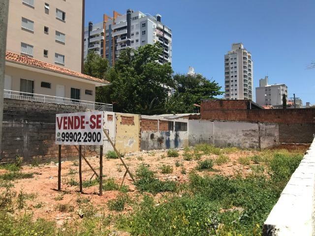 Terreno 360m2 - viabilidade 14 andares - Rua Eugênio Portela - Barreiros - São José - Foto 8