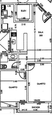 Apartamento com 2 quartos à venda, 62 m² por r$ 265.000 - vale do ipê - juiz de fora/mg - Foto 5