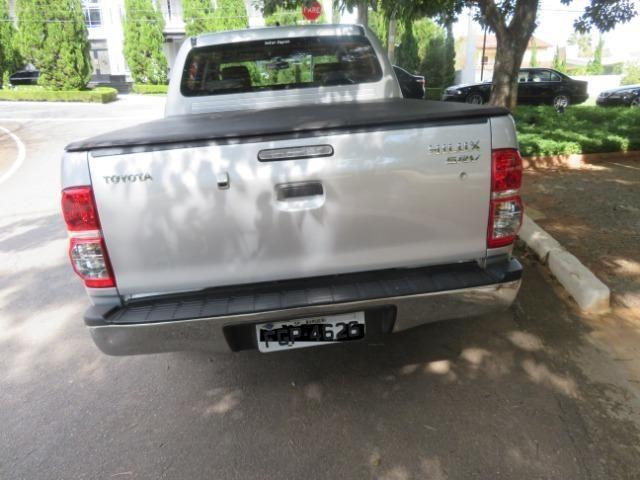 Hilux Diesel 3.0, 4x4 Automática modelo SRV Único dono, Estado de nova - Foto 3