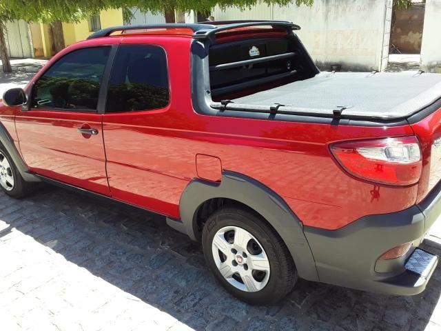 Fiat Strada Working 1.4 vermelha Apenas Venda - Foto 3
