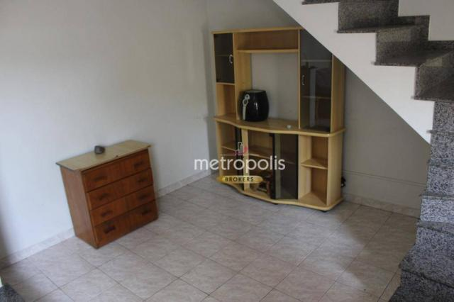Sobrado com 4 dormitórios para alugar, 246 m² por R$ 4.000/mês - Cerâmica - São Caetano do - Foto 2