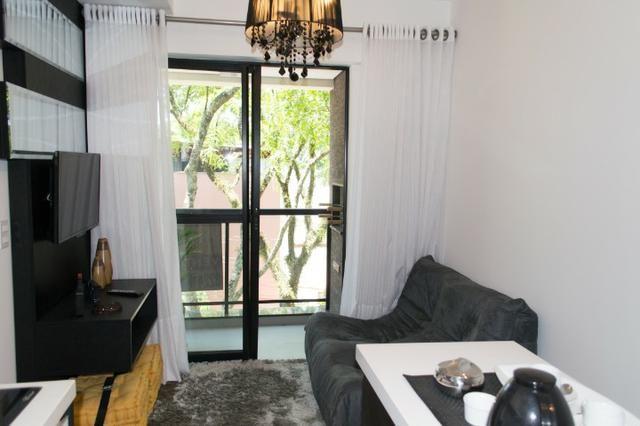 Apartamento Decorado 1 Dormitório No Mercês - Foto 10
