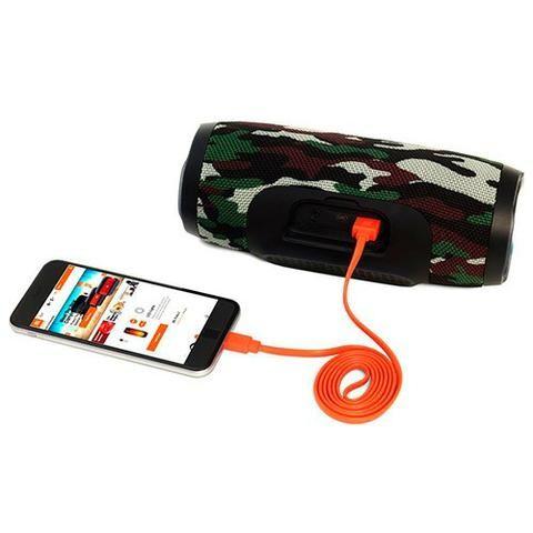 Caixa de Som JBL Charge 3 com Bluetooth/USB - Wirel- Bivolt - Bateria de 6.000 Mah - Foto 6