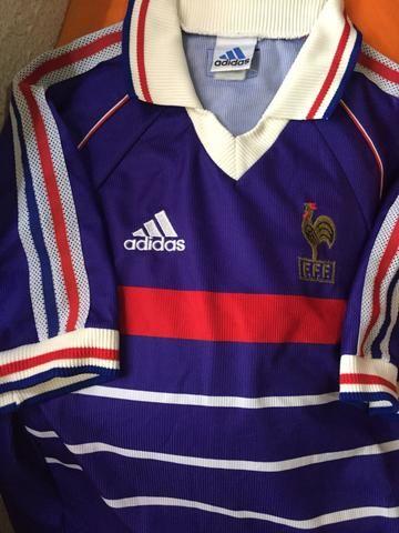 Camisa França copa 1998 Original Tam. G (não é retrô) - Esportes e ... 2f85c8d77d21a