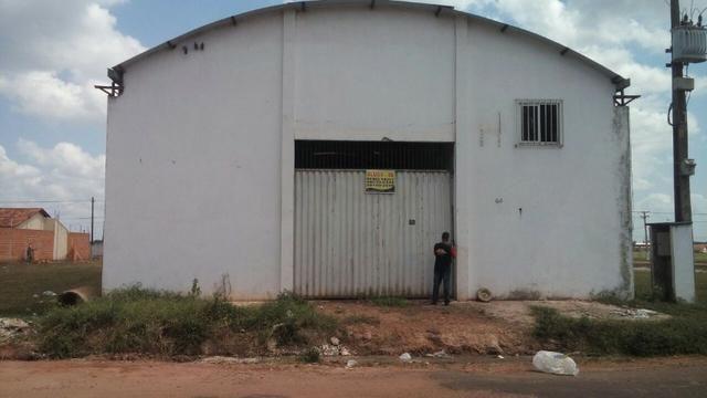 2 mil reais a locação galpão com 360 metros quadrados, em Castanhal no bairro imperador