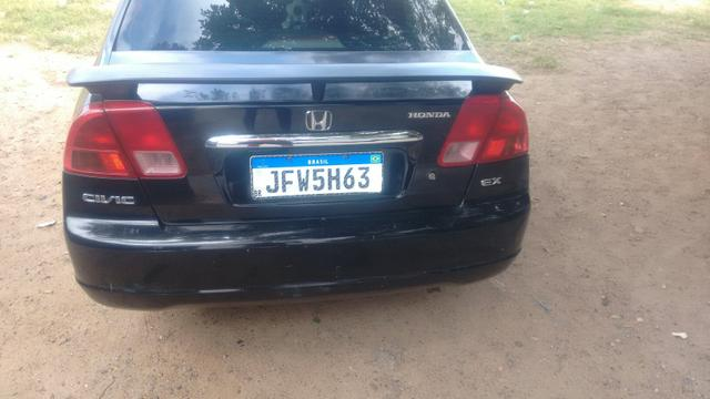 Honda Civic ex 1.7 16 v troco por Burgman 125 ano 2013 com volta do comprador - Foto 8