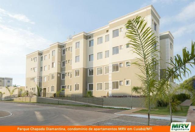 RARO! Apartamento 2 Quartos com Jardim Privativo. Parque Chapada Diamantina MRV - Foto 2