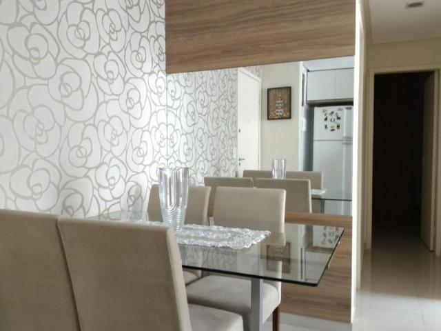 Excelente apartamento 2 Quartos com suíte montado e decorado - Foto 5