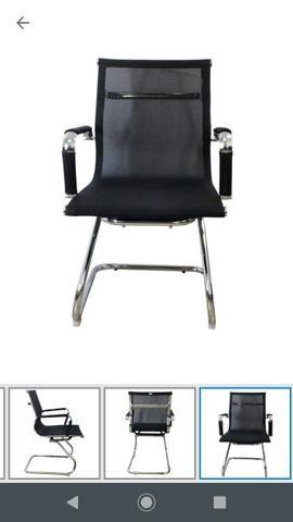 Cadeira Escritório Interlocutor (Produto Novo) 10 x sem juros - Foto 3