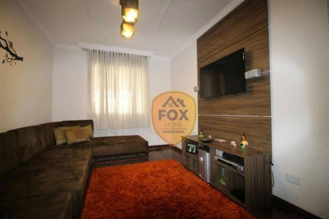 Sobrado com 3 dormitórios para alugar, 240 m² por R$ 5.500,00/mês - Cajuru - Curitiba/PR - Foto 5