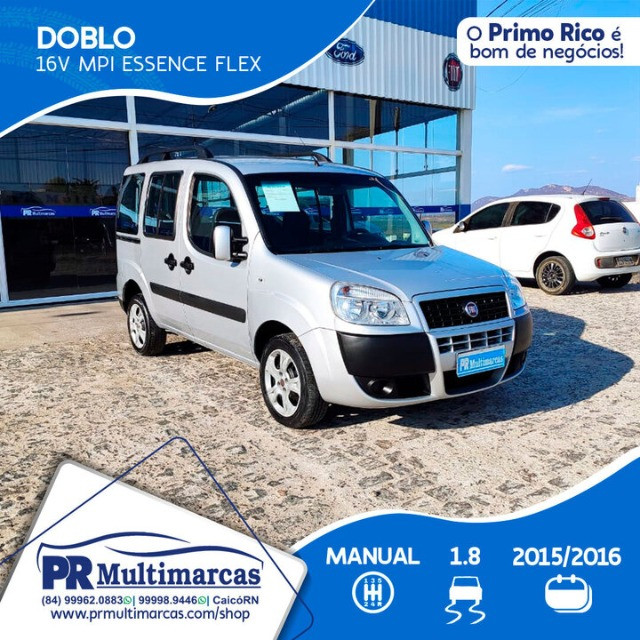 Fiat Doblo Essence 07Lug 1.8 2016 - Foto 2
