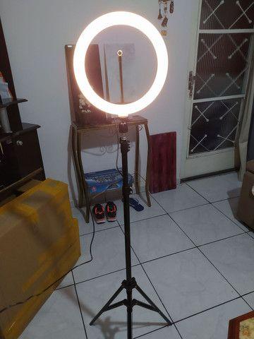 RING LIGHT LED DEZ POLEGADAS - Foto 5