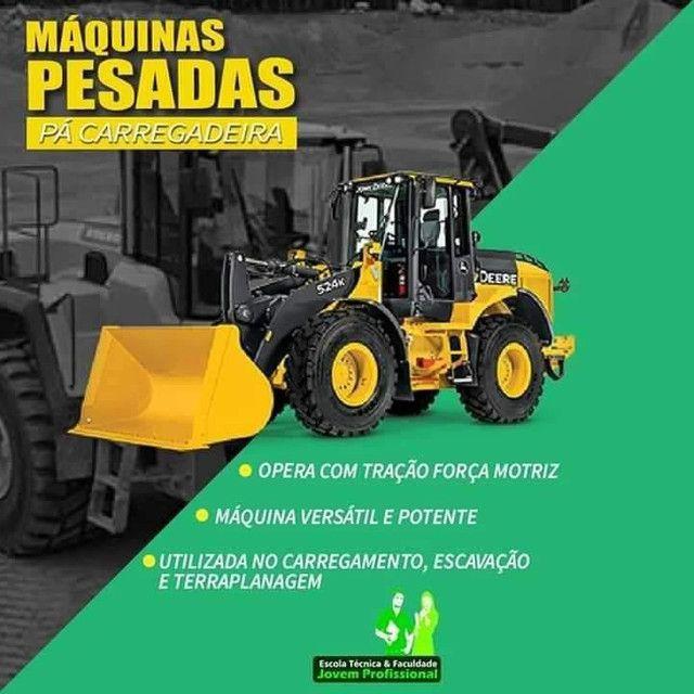 OPERADOR DE MÁQUINAS PESADAS  - Foto 2