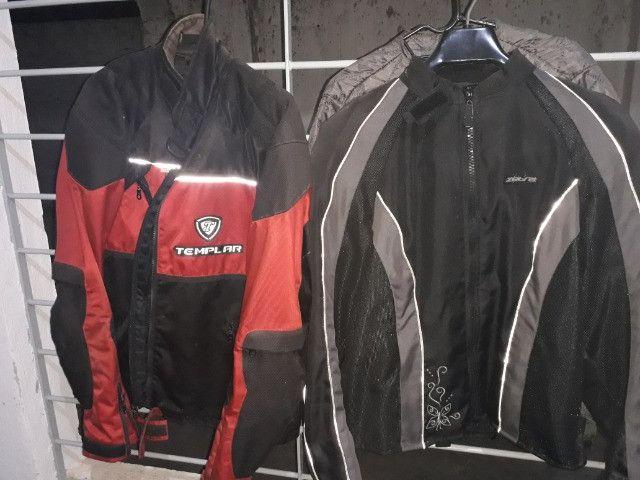 Jaqueta de proteção para motociclista