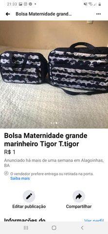 Bolsas Maternidade da Tigor Tigre Original