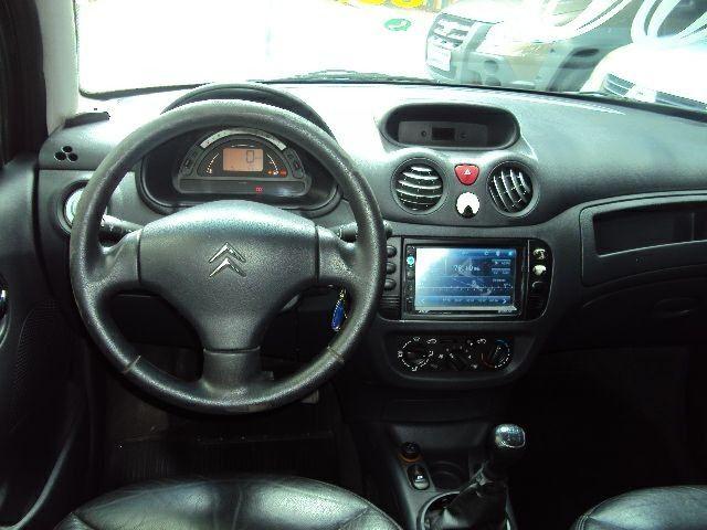 Citroen C-3 GLX 1.4 8v 2006 Completo / Bco Couro / Multimedia / Super Conservado... - Foto 2