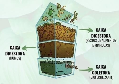 Composteira doméstica - Foto 4