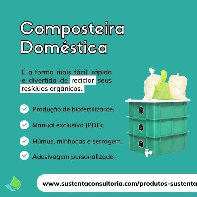 Composteira doméstica - Foto 5