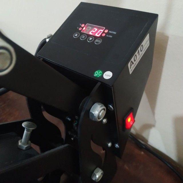 Prensa Sublimática 38x38cm 110v Mecolour - Foto 3