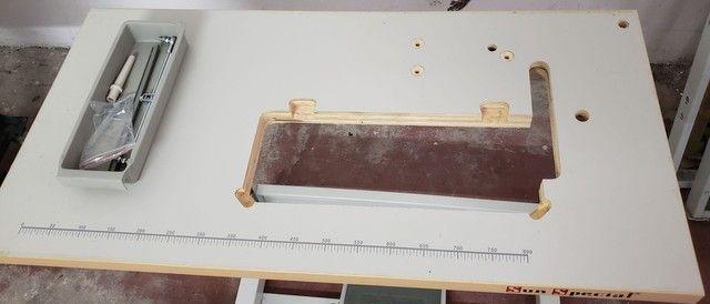 Mesa de máquina reta - Foto 2