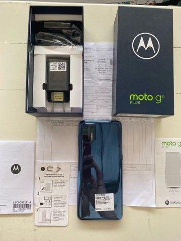 Vendo Moto G9 Plus 128GB- NUNCA USADO- Lacrado- Nota Fiscal- Garantia motorola- Ji parana  - Foto 3