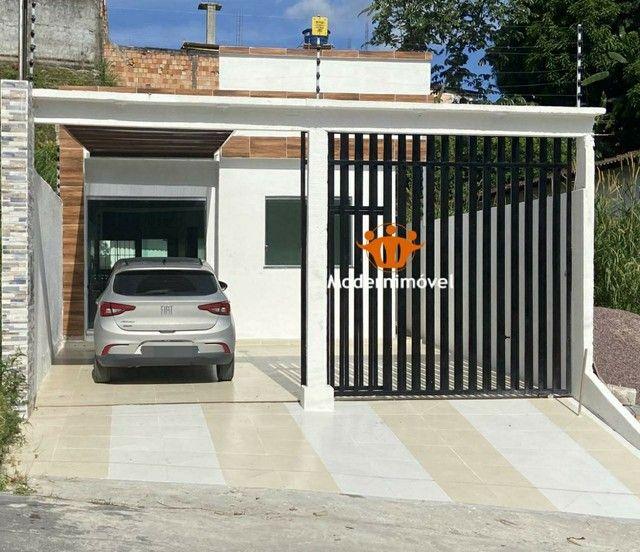 APROVEITE! Casa no Parque Dez - 3qrts, sendo 1 suíte - janelas e portas no blindex - Foto 3