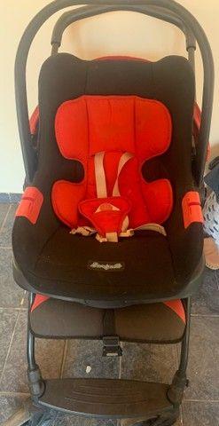 Carrinho+bebê conforto  - Foto 2