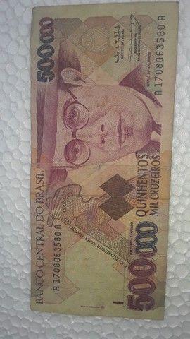 Cédulas antigas de dinheiro do Brasil  - Foto 2