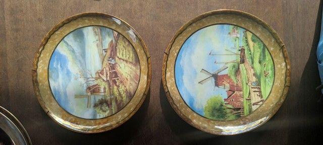 Pratos de porcelana pintado a mão - Foto 6