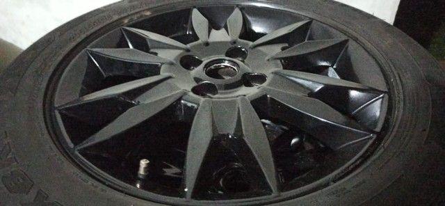 Rodas aro 16 com pneus - Foto 2