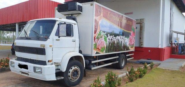 Caminhão 14-170 Bau Gancheira