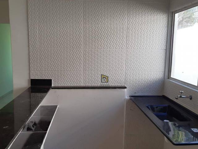 Casa com 2 dormitórios à venda, 91 m² por R$ 195.000 - São Simão - Várzea Grande/MT - Foto 4
