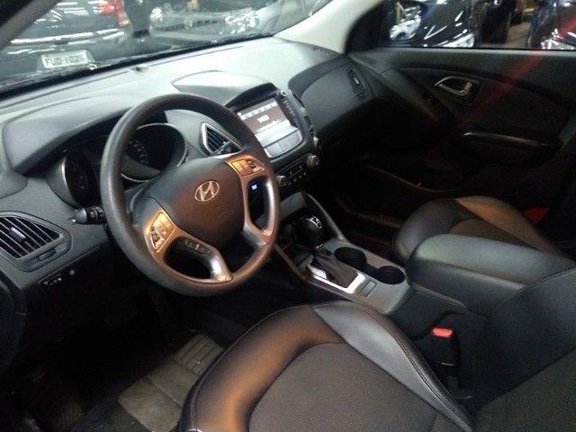 Hyundai IX35 GLS 2.0 16v Flex Autom Completo Couro DVD 2019 Preto - Foto 7