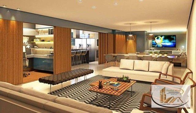 Apartamento com 4 dormitórios à venda, 175 m² por R$ 2.995.000,00 - Santo Agostinho - Belo - Foto 2
