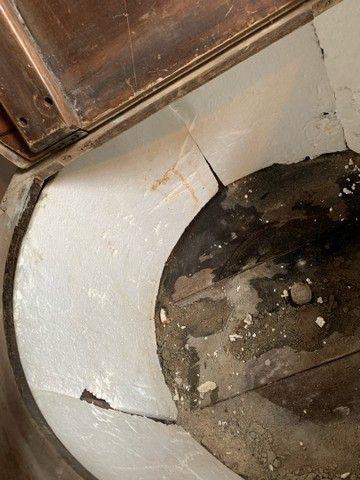 Máquina lavar roupa antiga madeira  - Foto 4