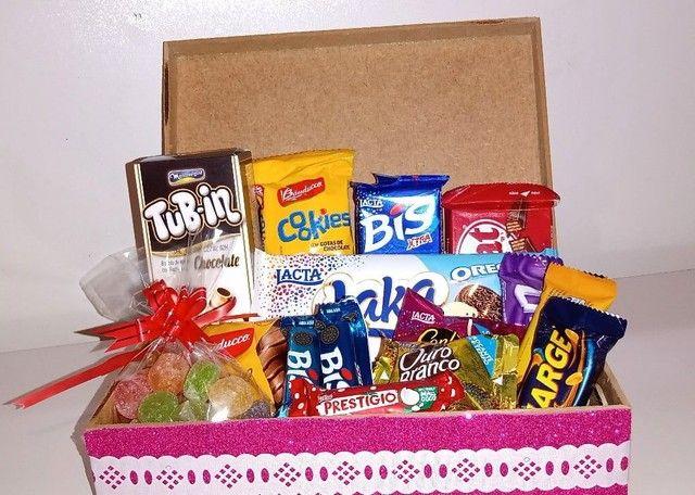 Caixa com chocolate - Foto 2