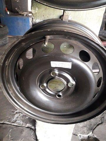Rodas  de ferro da GM  - Foto 3