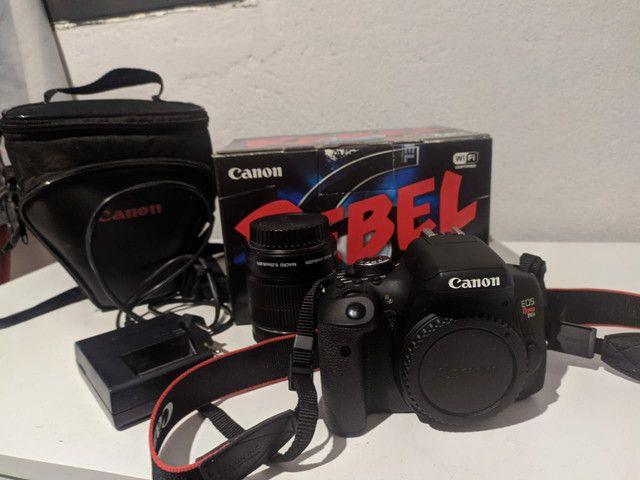 Câmera Canon T6i  - Foto 3