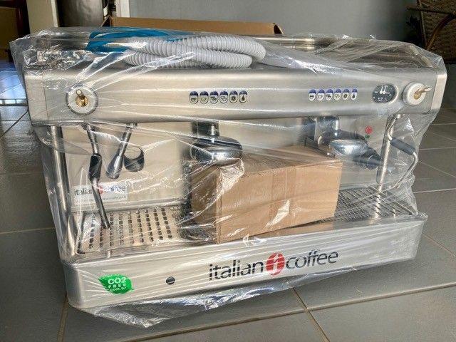 Maquina de café magestic e moinho ck a8 Italian Coffee