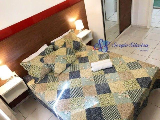 Pé na areia Apartamento 3 quartos no Porto das dunas Beach Living térreo mobiliado  - Foto 5