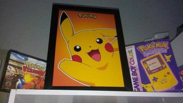Quadro Pikachu - Pokemon  - Foto 6