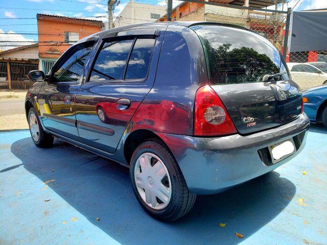 Clio hatch 1.0 4portas- 2007 - Flex - Revisado!! - Foto 4