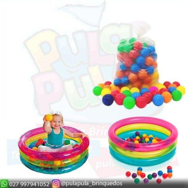 Bolinha colorida - ideal para piscina em vários modelos - o melhor preço do ES! - Foto 4
