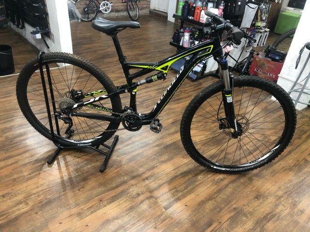 Bicicleta specialized camber 2019 tamanho M (usada)