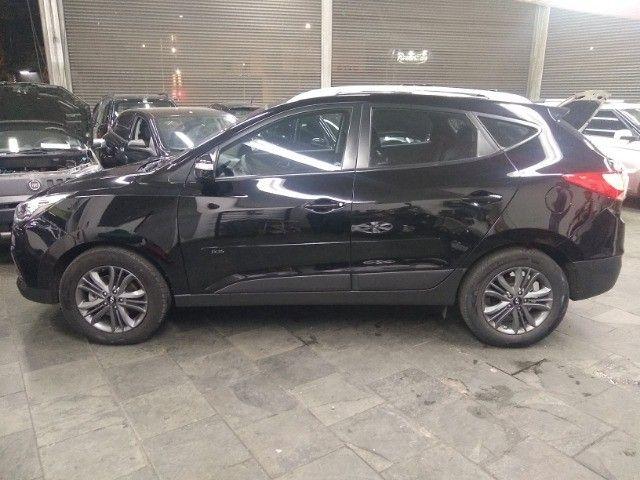 Hyundai IX35 GLS 2.0 16v Flex Autom Completo Couro DVD 2019 Preto - Foto 5
