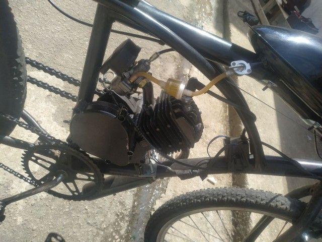 Bicicleta motorizada80cc - Foto 2