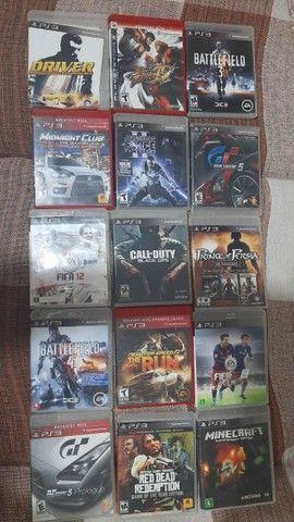 Dvd de jogos PlayStation  3 em estado excelente   alguns nem usado foram
