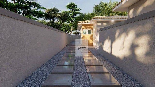 Excelente casa linear com 3 dormitórios à venda, 70 m² por R$ 310.000 - Enseada das Gaivot - Foto 7